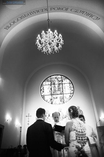 Zdjęcia z przysięgi małżeńskiej podczas ślubu