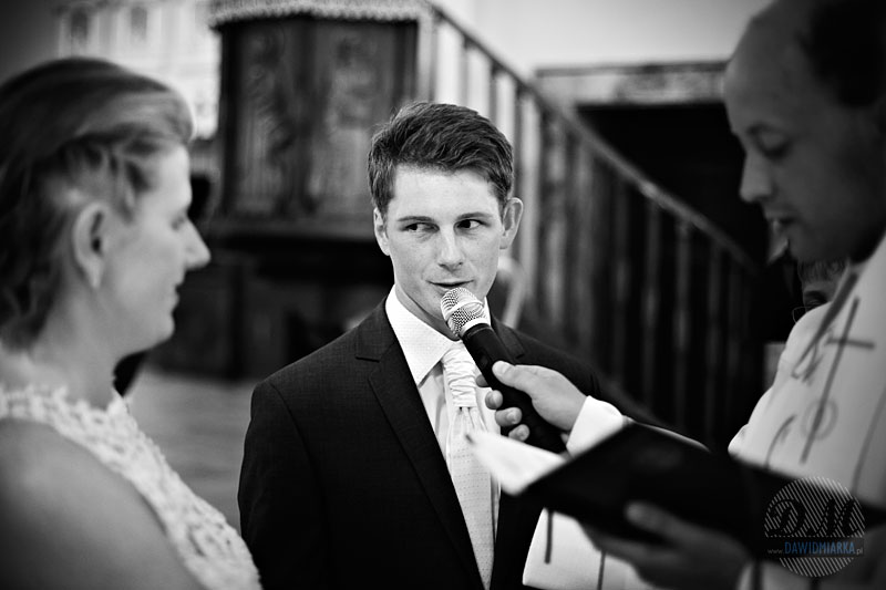 Słowa przysięgi Małżeńskiej wypowiadane przez Młodego Pana