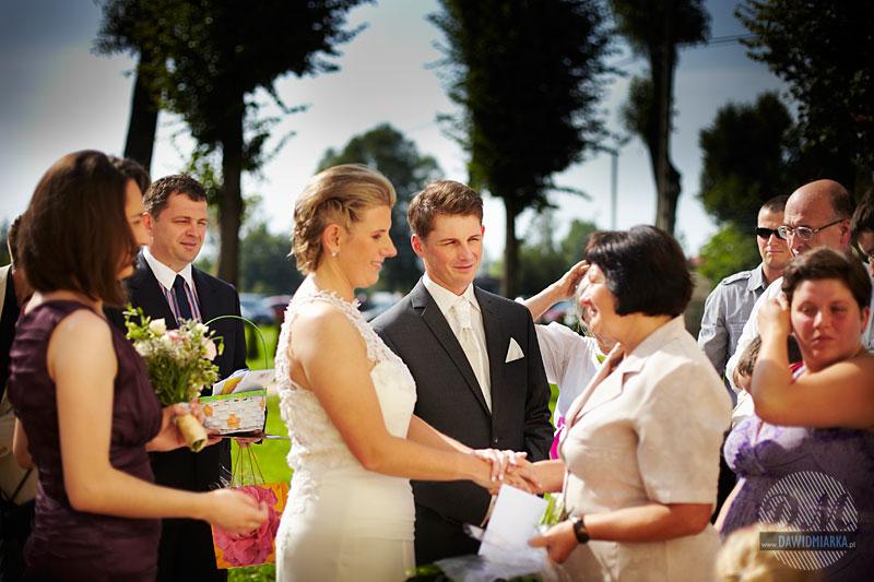 Zdjęcia ślubne z życzeń dla Młodej Pary