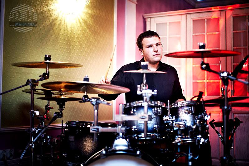 Perkusista kapeli weselnej - zdjęcia Bielsko-Biała