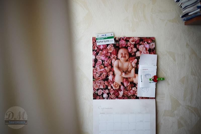 Kalendarz dziecięcy i bibeloty Kasi