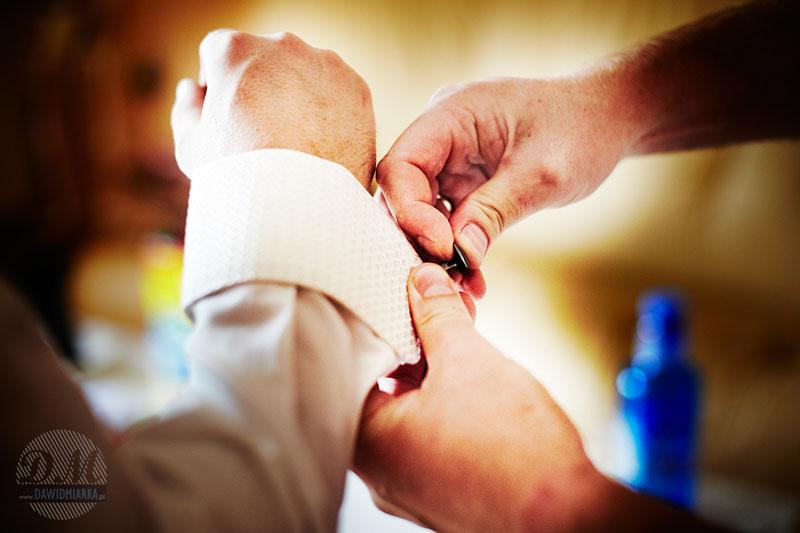 Ujęcia z przygotowań przedślubnych u Młodego Pana