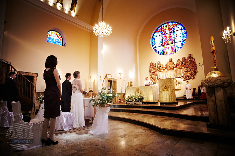 Zdjęcia ze ślubu w kościele