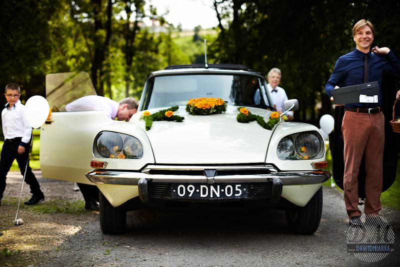 Samochód do ślubu Wadowice