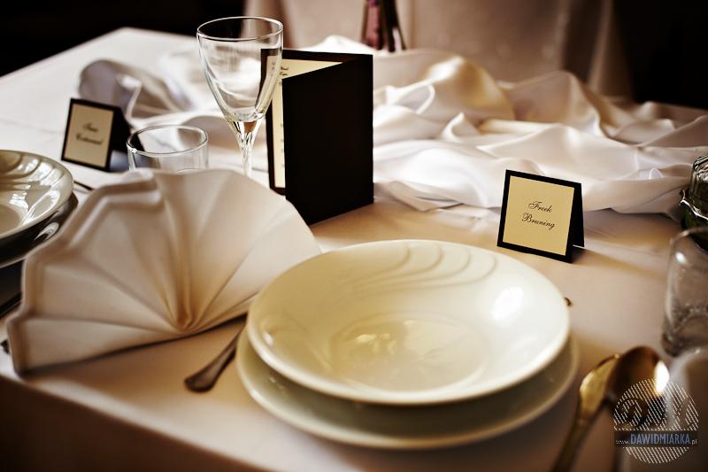 Winietki weselne, karty menu - Jumika Andrychów