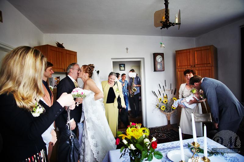 Fotografia ślubna z przygotowań - Wadowice