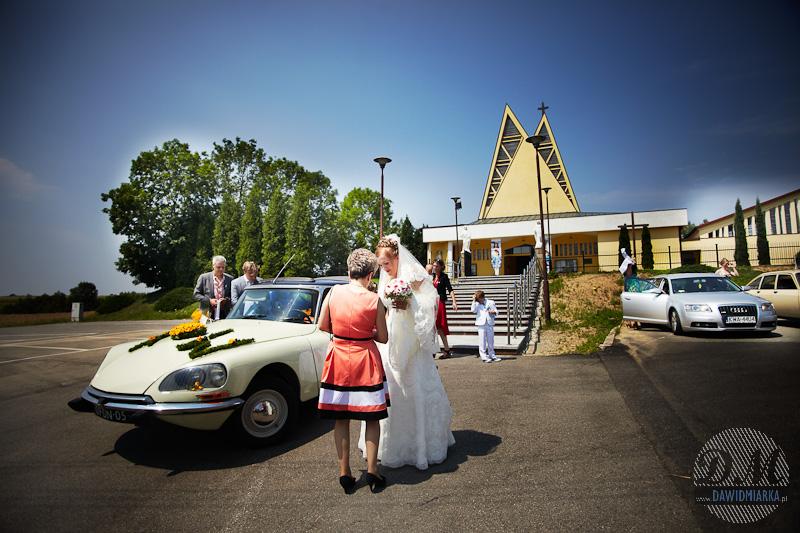 Samochodem do ślubu