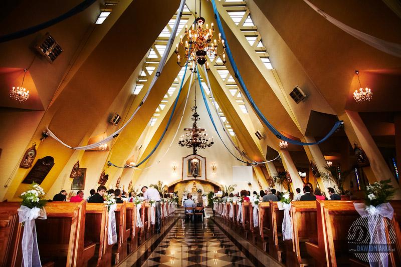 Zdjęcia ze ślubu na cały kościół