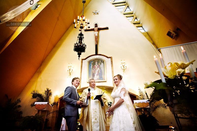 Obrzędy Mszy Świętej podczas ślubu i przysięga małżeńska