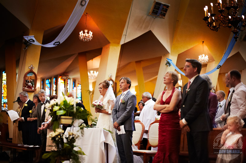 Obrzędy Mszy Świętej podczas przysięgi małżeńskiej