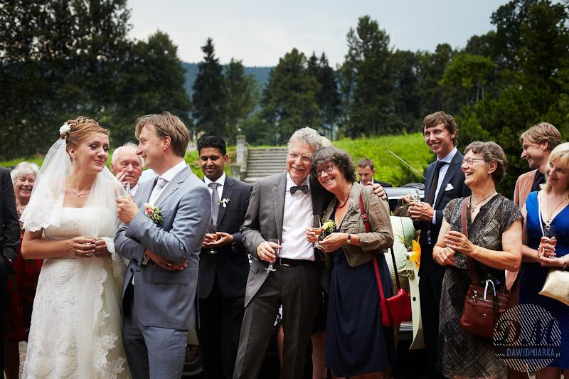 Zdjęcia Nowożeńców w plenerze