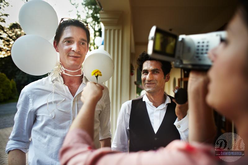 Goście weselni z Holandii i Anglii