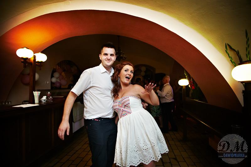 Zdjęcia z wesela tańczących gości