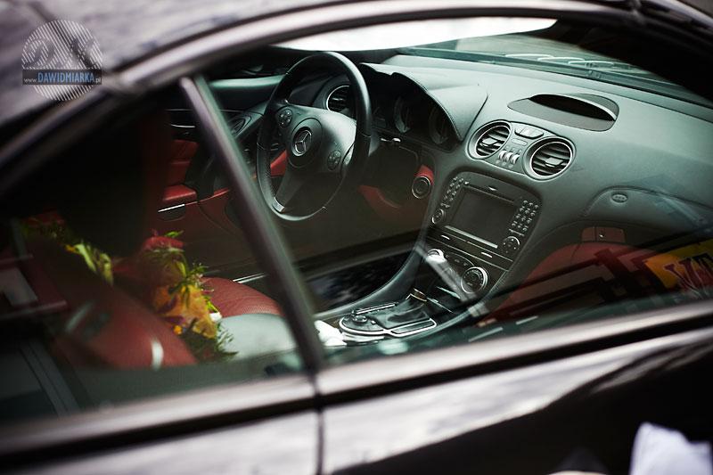 Zdjęcie samochodu do ślubu Młodej Pary