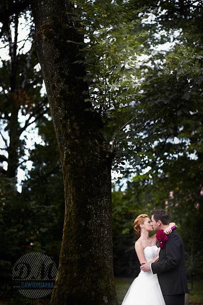 Zdjęcia z pleneru na tle drzew