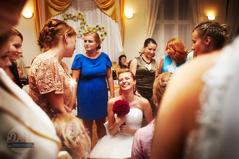 Zdjęcia ślubne z oczepin