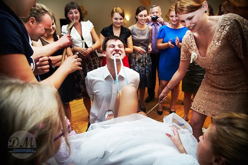 Fotki z oczepin weselnych