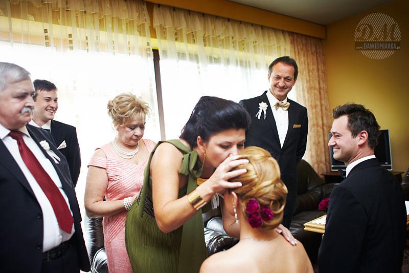 Zdjęcia ślubne z błogosławieństwa