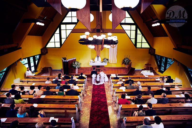 Zdjęcia ślubne z Mszy Świętej