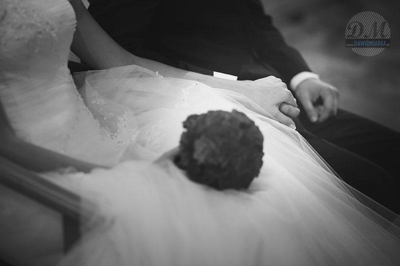 Fotografia ślubna czarno-biała