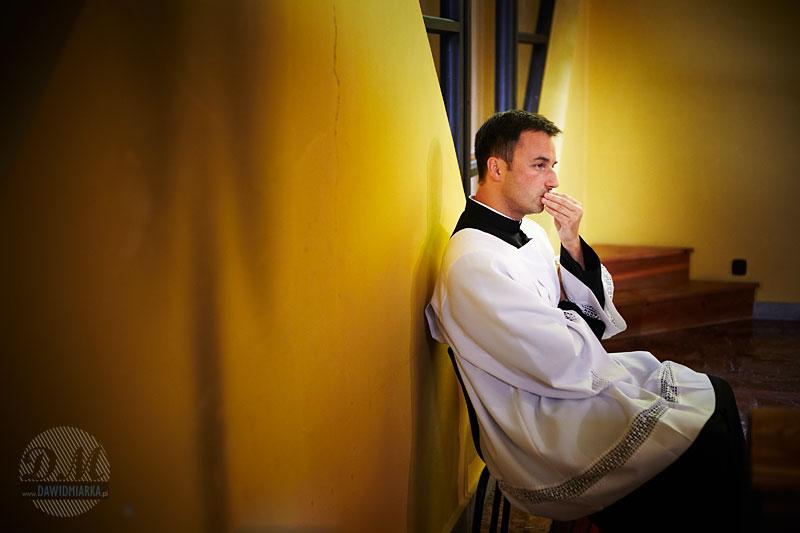 Zdjęcie księdza katolickiego