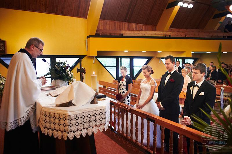 Tekst przysięgi małżeńskiej został wypowiedziany