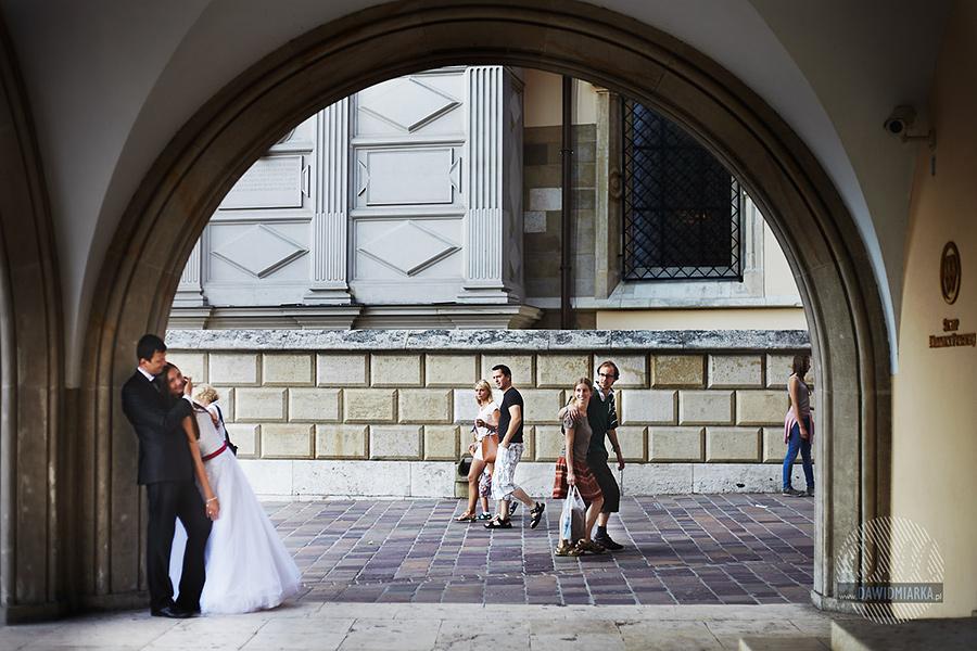Turyści na Wawelu