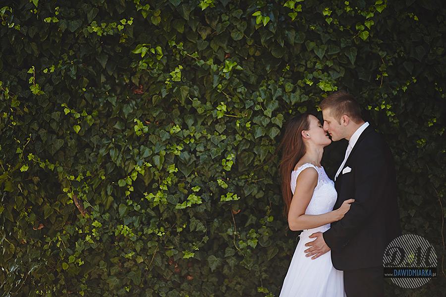 Klasyczne zdjęcie ślubne na Wawelu
