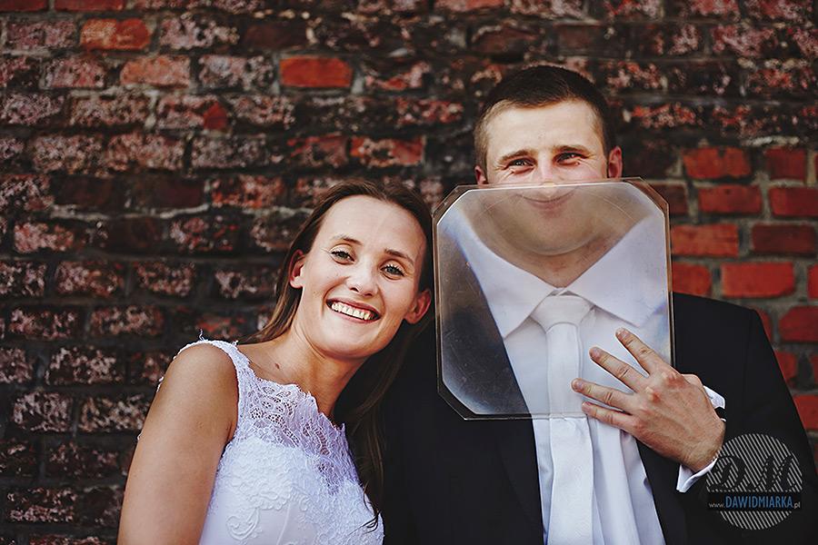 Zwariowane zdjęcia ślubne.