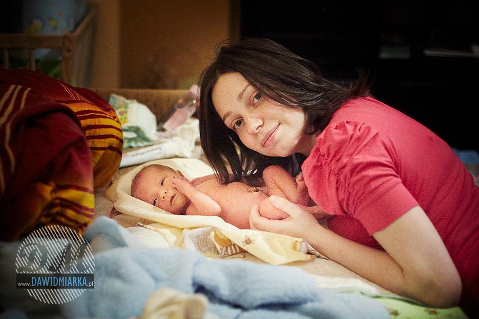 Fotografia noworodkowa Wadowice