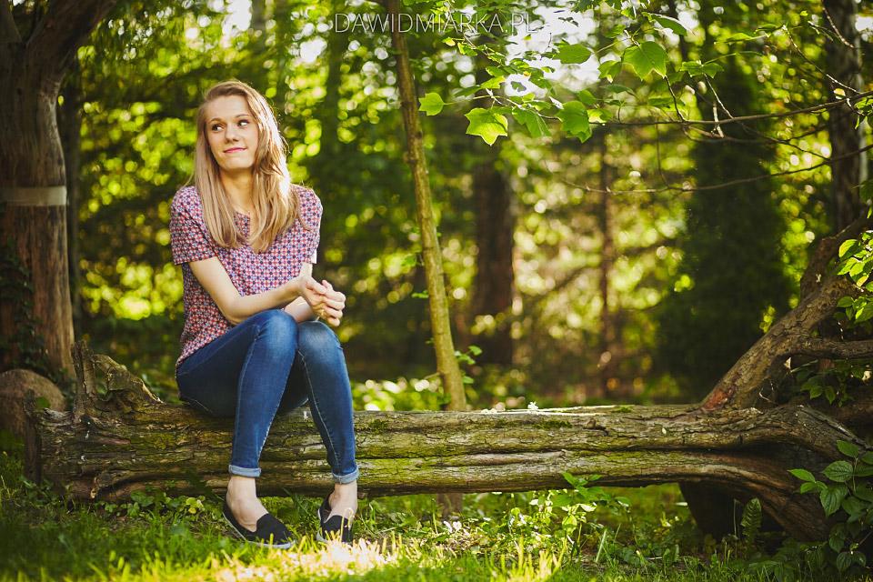 Plener w lesie Andrychów