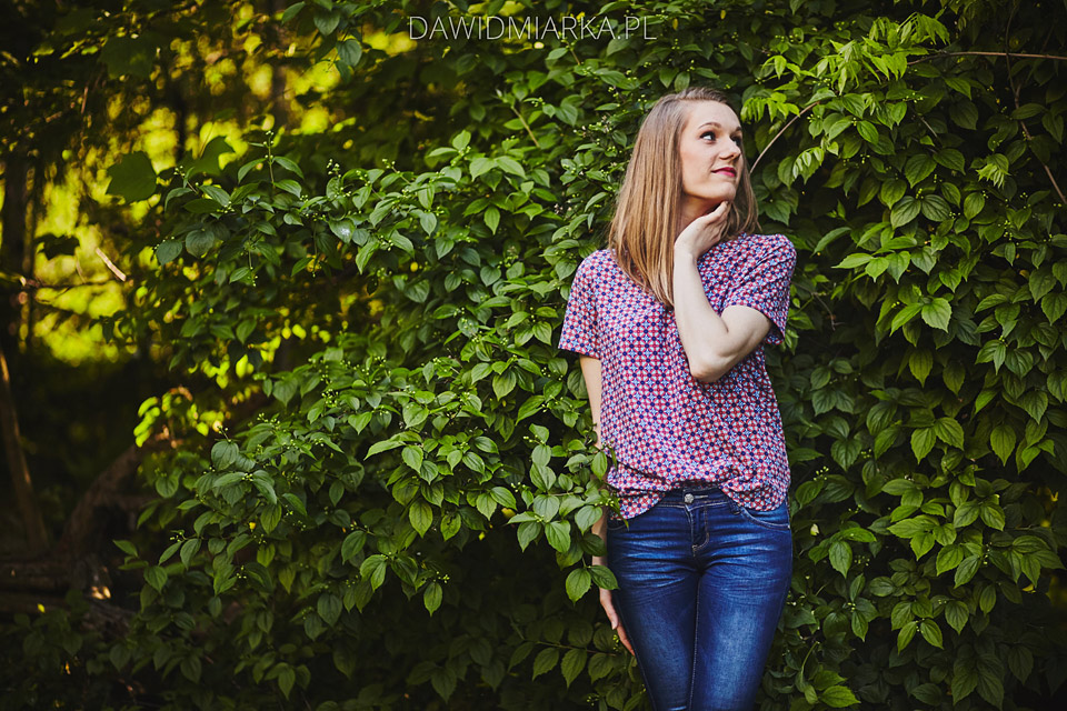 Plener w lesie Wadowice