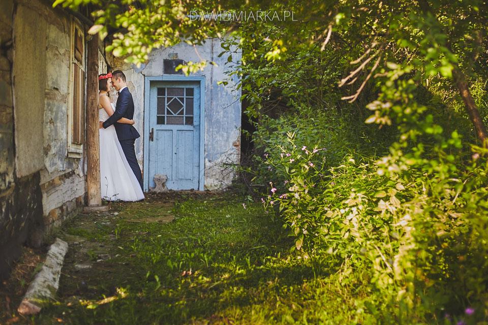 Ślubna sesja plenerowa fotograf na plener Andrychów