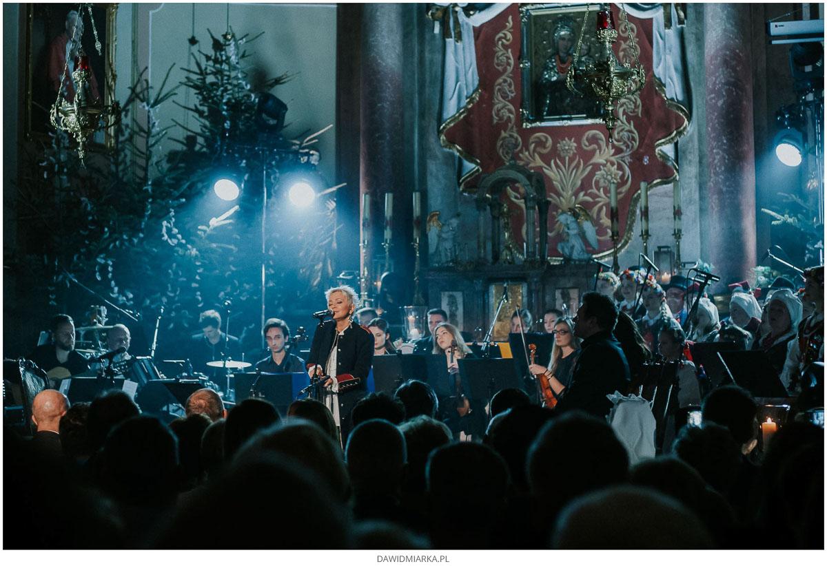 Małgorzata Ostrowska koncert kolęd i pastorałek Inwałd